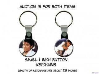 Michael Jackson Tiger Set of 2 Key Chains