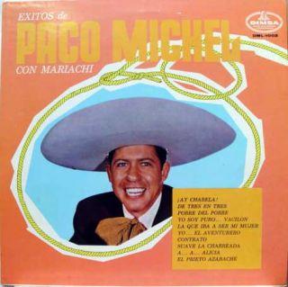 Paco Michel Exitos de Paco Michel LP Mono DML 1002
