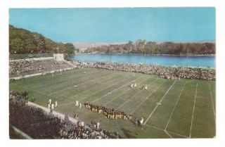 NY68 Michie Football Stadium West Point New York Postcard