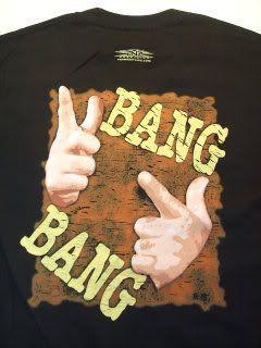 Mankind Mick Foley Bang Bang Wrestling T Shirt TNA