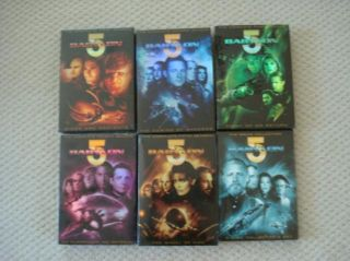 Babylon 5 Complete Series Seasons 1 2 3 4 5 Movie Collection DVD New