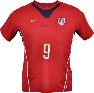 MIA Hamm Autographed Signed Nike Red Womens Team USA Authentic Soccer