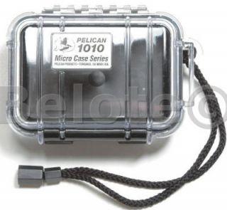 Pelican Micro Case Black Clear 1010 New 5 4 x 2 1 x 4 1