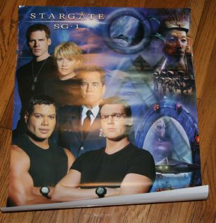 Stargate SG 1 Poster Ben Browder Shanks Tapping New