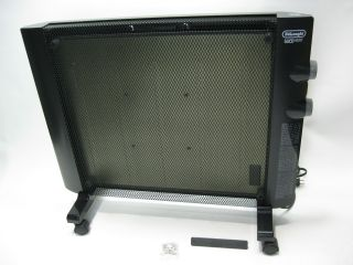 DeLonghi Mica Panel Heater Safe Heat Wall Mounting