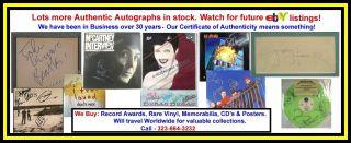 Guitar Pick Guard Autograph Michael Stipe Peter Buck Mike Mills