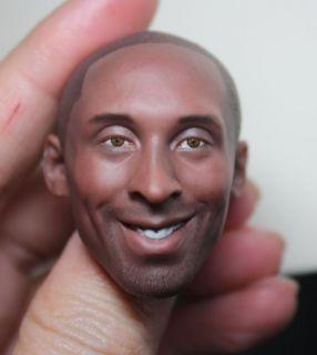 Custom Kobe Bryant 1 6 Head Sculpt Michael Jordan Hot Enterbay Toys