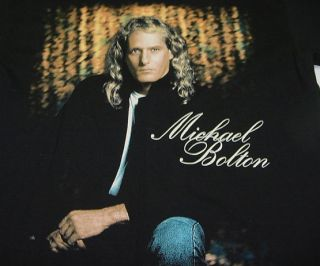 Vintage UNWORN Michael Bolton Concert World Tour 1994 T Shirt Sz Mens