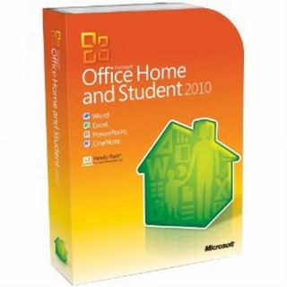 Microsoft Office 2010 Home Student Windows XP 3 Pcs 1 User