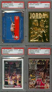1996 Upper Deck Michael Jordan R O Y Collection RC13 PSA 10 Pop 1 Die