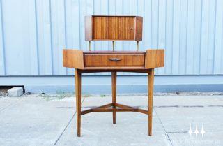 Mid Century Modern Corner Desk Unit by Wrighton