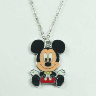 Disney Baby Mickey Mouse Metal Pendant Necklace Birthday Party Boys