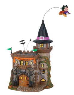 Dept 56 Disney Village Mickey Mouse Halloween Castle Figurine
