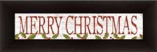 Merry Christmas by Kathy Middlebrook Holiday Sign Christmas Décor