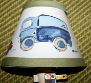 Nightlight MW Pottery Barn Kids Hayden Cars Trucks Boys