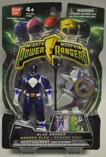Mighty Morphin Power Rangers 2010 Translucent Blue