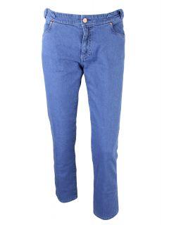 MiH Jeans Womens Klein Blue Paris Mid Rise Slim Cropped Jeans 30 $192