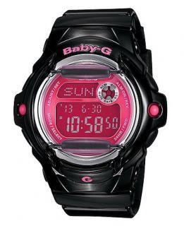 Baby G Watch, Womens Black Resin Strap BG169R 1B   All Watches
