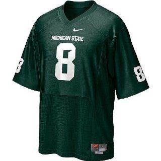 Michigan State Spartans Boys Nike 8 Home Football Jersey Sz 7