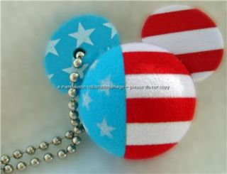 MICKEY MOUSE EAR ICON DANGLES~MICKEY MINNIE PIRATE PRINCESS US FLAG