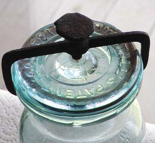 Millville Atmospheric Fruit Jar Pint All Original