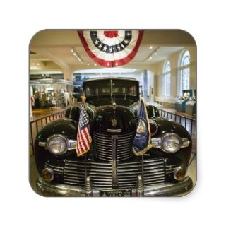USA, Michigan, Dearborn: The Henry Ford Museum, Stickers