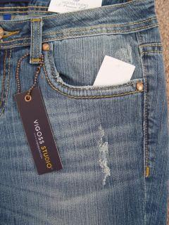 NWT Vigoss Studio Womens Jeans Boot Cut Size 27