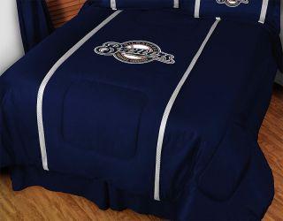 MLB Milwaukee Brewers Baseball Bedding Comforter Set