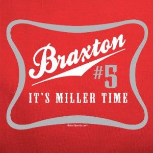 Its Miller Time T Shirt Buckeyes Braxton Jersey Ohio State Funny