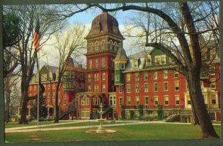 Millersville State College PA Postcard 50s