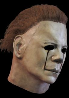 Official Michael Myers Blood Tears Halloween II Mask Horror Latex Mask