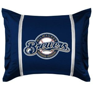 Milwaukee Brewers Comforter Set Twin Full Queen SL MLB Bedding Sets
