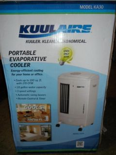 Kuulaire Portable Evaporative Cooling Unit with 100 Sq ft Cooling 170