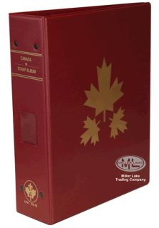 Harris Canada Provinces Stamp Album Binder Empty