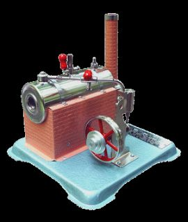 Jensen Model 70 Live Steam Engine Tin Toys for Wilesco