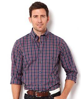 Nautica Big and Tall Shirt, Wrinkle Resistant Plaid Shirt