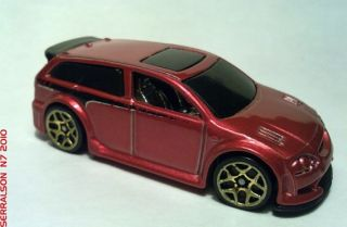 2007 Hot Wheels 088 Audacious Code Car