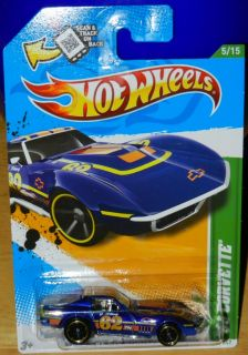 Hot Wheels 2012 Treasure Hunt 69 Corvette 5 15