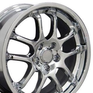 18 Chrome Rims Fit Infiniti G35 Sedan Nissan 350Z Rims Fit Infiniti