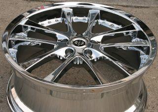 Stern Grans 19 Chrome Rims Wheels Infiniti M35 06 Up 19 x 8 5 5H 38