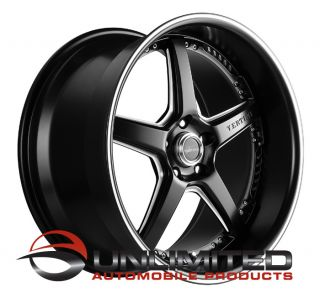 19 Vertini Drift Staggered Wheels Rims Fit Nissan 350Z Coupe Infiniti