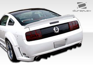 2005 2009 Ford Mustang Duraflex Hot Wheels Widebody Rear Fender Flares