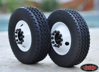Tractor Trailer Tires 1 7 Super Wide Commericial RC4WD Z T0071 Reefer