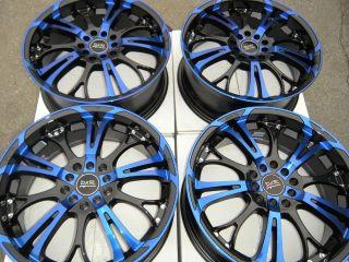 17 Blue Rim Wheel Matrix Legacy Impreza Prius RAV4 Optima G25 Jetta