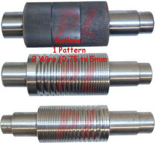 Dies 3 80 mm Rolling Roller Mill Sheet Metal Wire Flat Pattern 5
