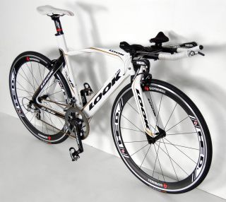 Look 596 Pro Team Carbon TT Tri Bike Bicycle Hed Jet 4