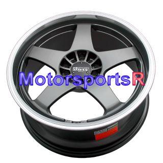 19 XXR 962 Gun Metal Rims Wheels 5x114 3 94 95 96 97 98 Mitsubishi