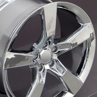 20 Camaro SS Chrome Wheels Set of 4 Rims Fits Chevrolet
