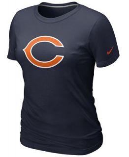 Nike Womens NFL T Shirt, Chicago Bears Logo Tee