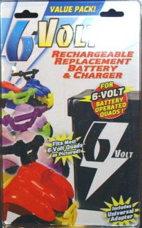 Replacement Rechargeable Battery Charger for Quads Power Wheels